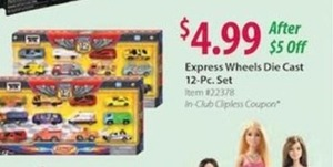 Express Wheels Die Cast 12-PC Set