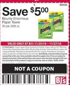 Bounty Enormous Paper Towel, 30-PK