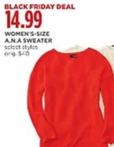A.N.A. Sweater Women's Select Styles