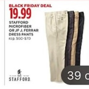 Stafford Men's Select Style Dress Pants