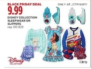 Disney Collection Sleepwear or Slippers