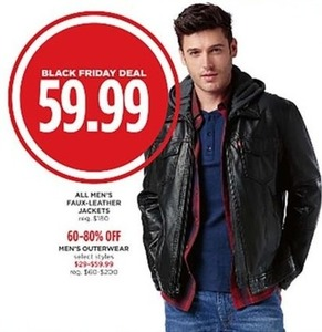All Men's Faux-Leather Jackets