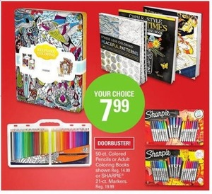 Assorted Adult Coloring Books
