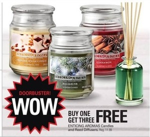 Enticing Aromas Candles and Reed Diffusers
