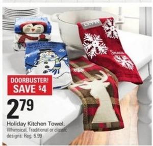 Holiday Kitchen Towel
