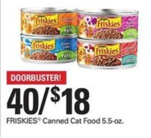 Friskies Canned Cat Food 5.5-oz.