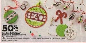 Handmade Holidays Surfaces & Embellishments