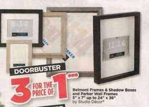 Belmont Frames and Shadow Boxes