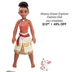 Moana Ocean Explorer Fashion Doll