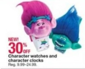 Character Watches and Clocks