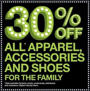 All Apparel, Accessories, and Shoes