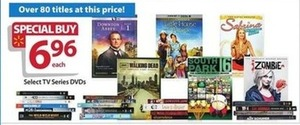 Select TV Series DVDs