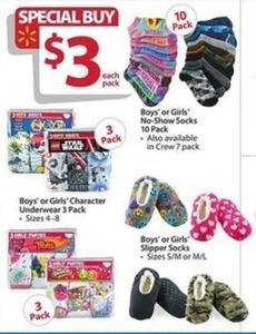 Kids' Character Underwear 3-Pack