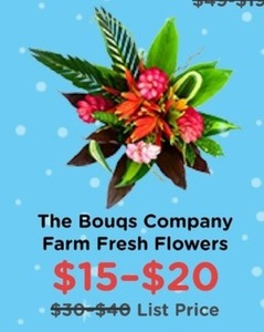 The Bouqs Company Farm Fresh Flowers