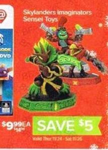 Skylanders Imaginators Sensei Toys