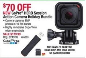 GoPro HERO Session Action Camera Holiday Bundle