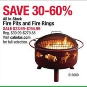 All In-Stock Fire Pits and Fire Rings