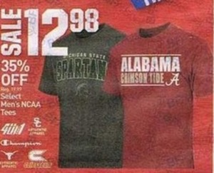 Select Men's NCAA Tees