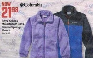 Columbia Girls' Benton Springs Fleece