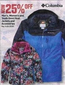 Omni Heat Jacket's and Accessories