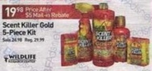 Wildlife Scent Killer Gold 5-Piece Kit