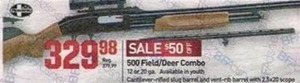 500 Field/Deer Combo Rifle
