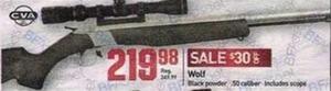 Wolf Black Powder .50 Caliber Rifle