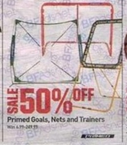 Primed Goals, Nets, and Trainers