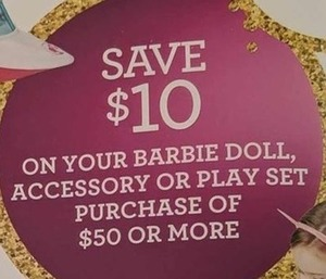 Barbie Doll, Accessory, or Play Set
