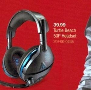 Turtle Beach 50P Headset