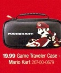 Game Traveler Case Mario Kart