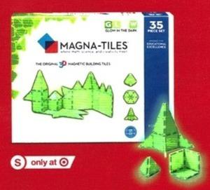 Magna-Tiles 35 Piece Set