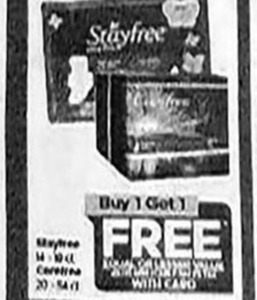Stayfree / Carefree Products