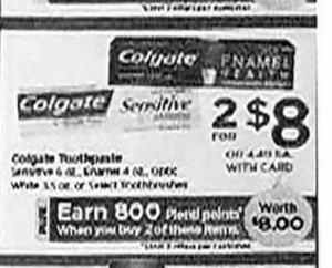 Colgate Toothpaste + $8 PP