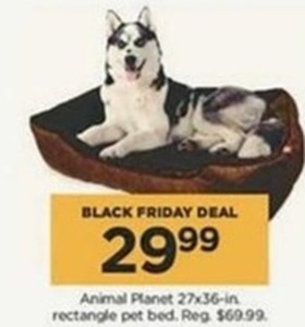 Animal Planet 27x39-in Rectangle Pet Bed