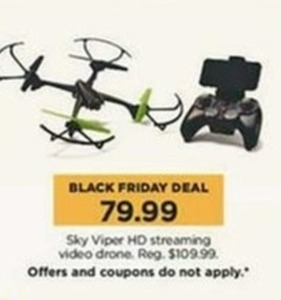 Sky Viper HD Streaming Video Drone