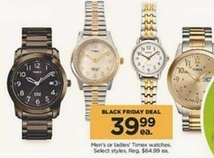 Select Timex Watches