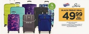 American Tourist Burst Luggage After Rebate + $15 Kohl's Cash