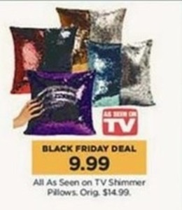As Seen on TV Shimmer Pillows