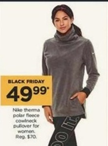 Nike Women's Therma Polar Fleece Cowlneck Pullover