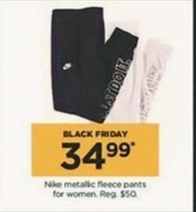 Nike Metallic Fleece Pants for Women
