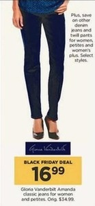 Women's Gloria Vanderbilt Amanda Classic Jeans