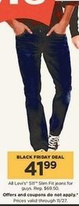 Levi's 511 Men's Slim Fit Jeans