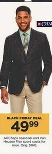 Men's Chaps Seasonal and Van Heusen Flex Sport Coats