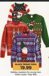 Men's Holiday Sweaters