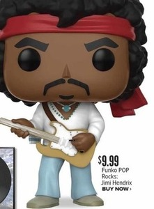 Funko Pop Rocks: Jimi Hendrix