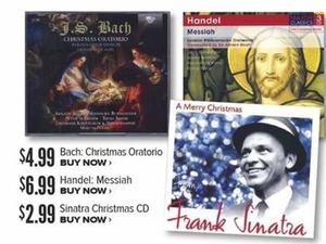 A Merry Christmas by Frank Sinatra
