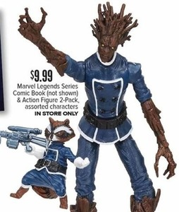 Marvel Legends Series Comic Book and Action Figure 2-pk characters