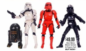 Star Wars Black Series 4-Figure Set