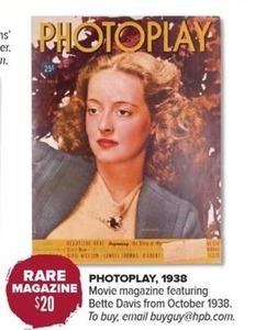Photoplay Magazine 1938
